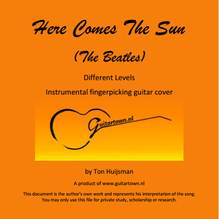 here comes the sun guitar tab pdf
